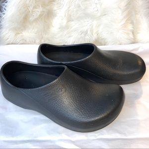 Birkis Black Unisex Clogs Shoes Birkenstock